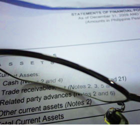 Sample Audited Financial Statements (Philippines)