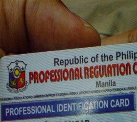 How to Register with the BIR (for Professionals)