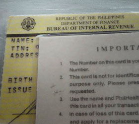 How to get a TIN ID from the BIR Philippines