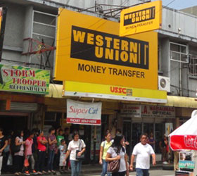 how to use western union to receive money