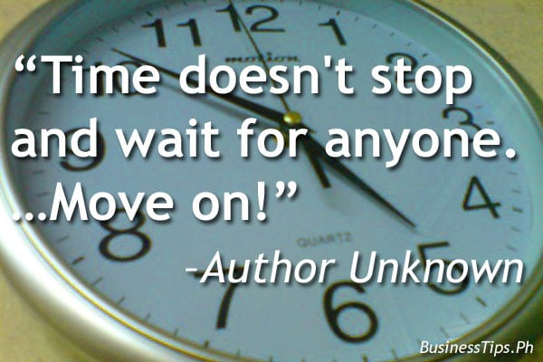 Quote about not wasting time