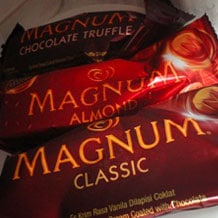 Magnum Ice Cream in the Philippines