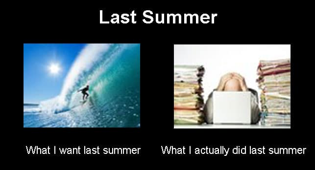 what I want last summer meme
