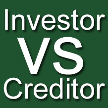 What is the Difference between Investors and Creditors?