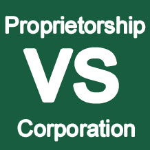Difference between a Sole Proprietorship and a Corporation