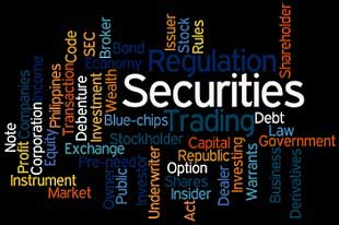 Securities, terms, words, codes