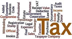 Tax codes and words