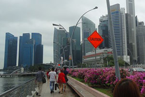 OFWs working in Singapore