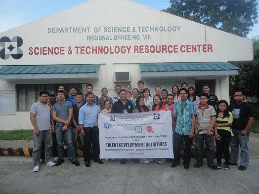 Internet Marketing Training by DOST 8 – EVFIT Philippines