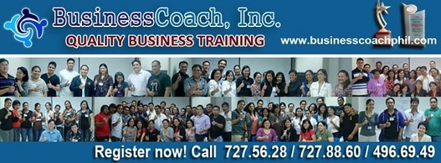 Business coach Philippines business seminar and training