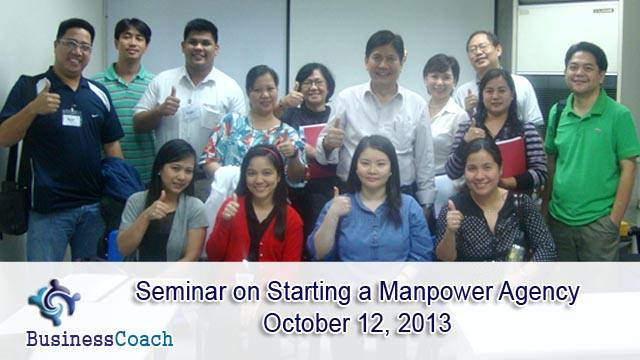 BusinessCoach Inc. Schedule of Seminars for November 2013