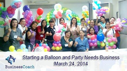 Starting a Balloon and Party Needs Business Training