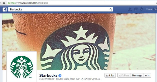 Starbucks Official Facebook Page