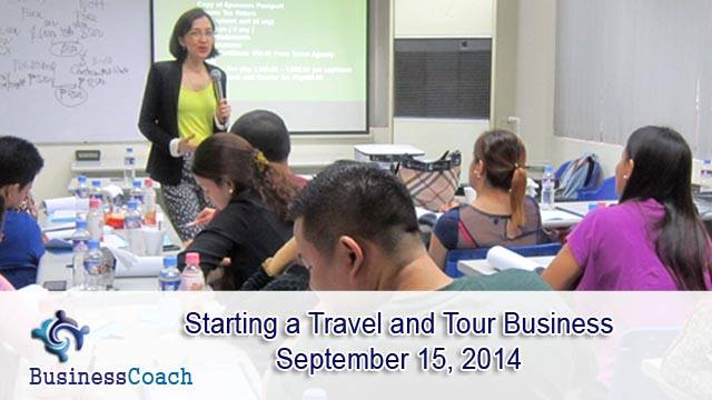 Travel and tour business seminar