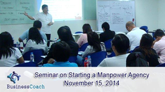 Starting a Manpower Agency Seminar
