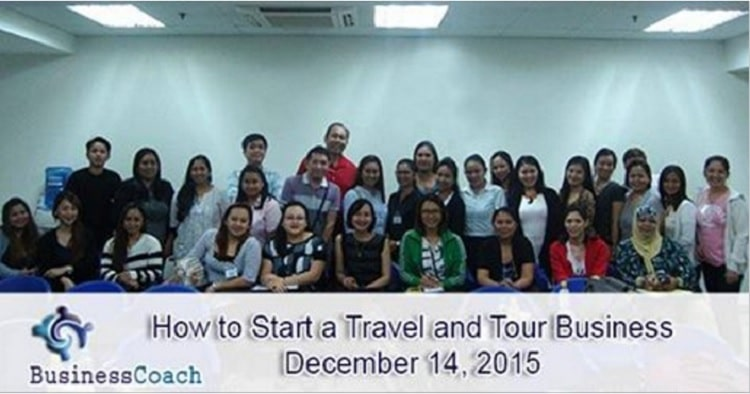 starting a travel and tour business seminar