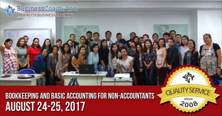 Bookkeeping and accounting seminar Philippines