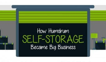 How Humdrum Self-Storage Became Big Business (Infographic)
