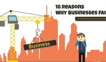 Why Businesses Fail and How to Prevent Them (Infographic)