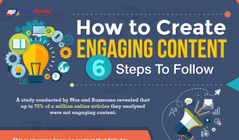How to Create Engaging Content – 6 Steps to Follow (Infographic)