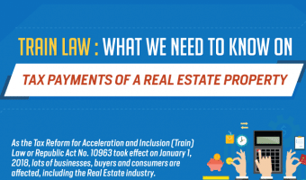 Train Law: What We Need to Know on Tax Payments of a Real Estate Property (Infographics)